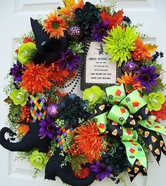 .Another cute wreath....