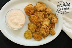 paleo fried pickles CV
