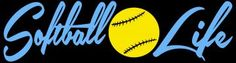 2 Color Softball Life Vinyl Decal Sticker for Vehicle Auto Car Truck  by @Adella Sandoval for $6.50