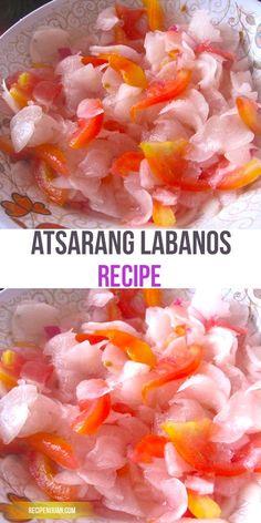 This Pickled Radish or Atsarang Labanos Recipe, in Filipino term, Labanos is versatile edible root kind of vegetable.