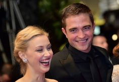 Sarah Gadon and Rob at the Map to the Stars premiere at Cannes, 5-19-14 (4)