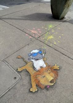 """David Zinn: """"If you only get on stage for the last five minutes, that's all the more reason to go out with a bang."""""""