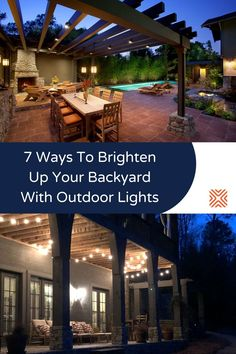 Sitting outside and having a good meal is very satisfying, but lacking the proper lighting design can ruin this magical experience. Light up your backyard design like a pro with our outdoor lighting tips. Solar Deck Lights, Outdoor Ceiling Lights, Backyard Lighting, Deck Lighting, Barn Lighting, Farmhouse Lighting, Lighting Design, Lighting Ideas, Outdoor Areas
