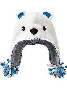 http://interesnoe-v-it.ru Идеи детских шапочек из флиса. За основу можно взять вот эту выкройку