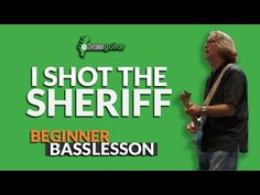 Learn Bass Guitar, I Shot The Sheriff, Eric Clapton, Learning, Videos, Youtube, Musica, Studying, Teaching