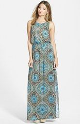 MINKPINK 'Flashback' Sleeveless Maxi Dress
