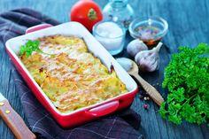 Cartofi gratinaţi-Cartofi gratinaţi