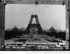 Retrospective : préparatifs de l'exposition de 1889 : la Tour Eiffel en construction, les jardins du Trocadero nouvellement tracés ; l'édification des divers pavillons dont la célèbre galerie des machines http://europeana.eu/portal/record/9200103/F97178B6C233FA5C1FB2B09D0AEE88909A1DD5AE.html