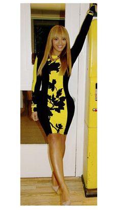 Bodycon Dress Beyonce Style | OMG Fashion