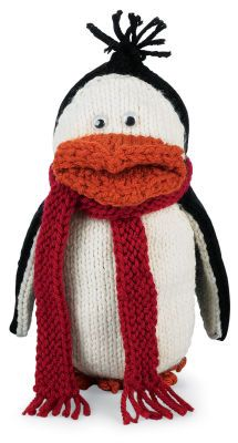 Pingouin-jouet en tricot Loops& Threads Impeccable