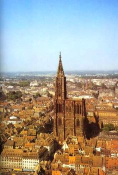I can express my amazement when I first saw Notre Dame cathedral in Strasbourg. Probably, the most magnificent building my eyes have ever seen...