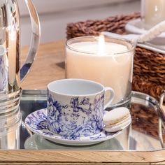 hora do chá... um toque especial