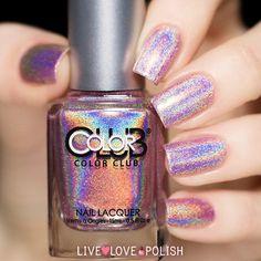 Color Club Halo-Graphic Nail Polish (Halo Hues Collection) | Live Love Polish