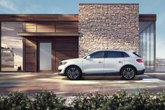 The all-new 2016 Lincoln MKX.