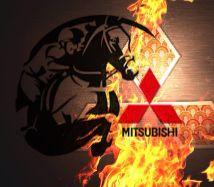 Mitsubishi logo Viks evo