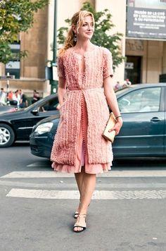 Our lead stylist @Lisa McComb looking gorgeous wearing #JMendel in Paris