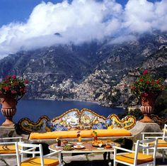 IL San Pietro, Positano, Italy - beautiful place albeit a bit overrated. Had the worst meal of my life at what was supposed to be the nicest restaurant in Italy, Don Alfonso. Bad service, arrogant staff. Stayed in a suite there which featured the same underwhelming experience.