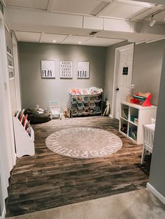 NEUTRAL TODDLER PLAYROOM | Blonde & Ambitious Blog Stuffed Animal Bean Bag, Toddler Playroom, Toy Bins, Small Corner, Book Holders, Lego Pieces, Cube Storage, How To Feel Beautiful, Table And Chairs