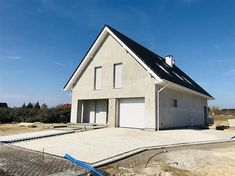 Projekt domu Dostępny 4A 139,6 m2 - koszt budowy - EXTRADOM Home Office Design, House Design, Facade House, Home Fashion, House Plans, Exterior, Outdoor Structures, Cabin, Contemporary