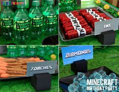 have a blast! minecraft birthday party - (cool) progeny : (cool) progeny