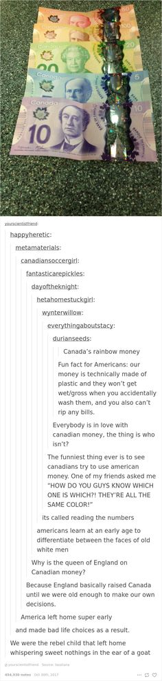 Funny-America-Canada-Differences-Mocking-Usa - Jokes - Funny memes - - 26 Times Canada Roasted America So Well You Can't Even Be Mad The post Funny-America-Canada-Differences-Mocking-Usa appeared first on Gag Dad. Anne Taintor, Funny Cute, The Funny, America Funny, Usa Tumblr, Canada Tumblr, Lol, Funny Tumblr Posts, America And Canada