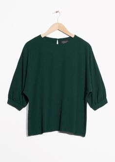 & Other Stories | Puff Sleeve Blouse
