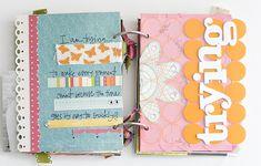 inside Maggie. H. minibook