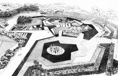 Roberto Burle Marx, Rogerio Python Farias Recreational Park, Brasilia, Brazil, 1974