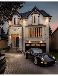 Luxury Homes Dream Houses, Luxury Homes Exterior, Dream Homes, Luxury Home Plans, White Brick Houses, Garden King, Home And Garden, Town House, Casa Linda