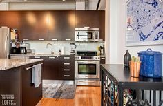 Toy Factory Lofts-43 Hanna Ave #229 Scavolini Kitchens, Lofts For Rent, Post And Beam, Wood Ceilings, Granite Counters, Stainless Steel Appliances, Exposed Brick, Kitchen Cabinets, The Originals