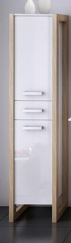 Lanzet C7 Waschtischunterbau für Keramag Renova 130 cm