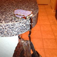 Handbag Table Hook Hanger I Love Firemen