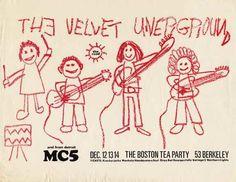 The Velvet Underground - Live At The Boston Tea Party: December 1968 Vinyl (Awaiting Repress) Rock Posters, Band Posters, Concert Posters, Music Posters, Underground Living, Boston Tea, Riot Grrrl, I Love Music, My Favorite Music
