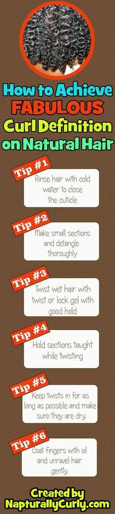 Make your curls stand out by making them super defined with these tips. - If you like this pin, repin it and follow our boards :-) #FastSimpleFitness - www.facebook.com/FastSimpleFitness #HairCareTips