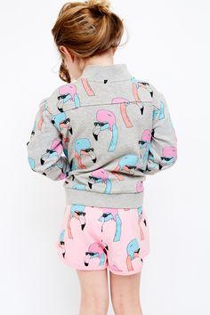 Track Suit Jacket Helmut Flamingo - Minou Kids