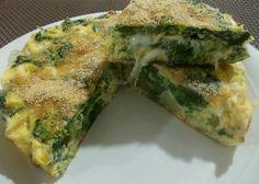 Frittata spinaci patate e mozzarella Mozzarella, Italian Recipes, Quiche, Picnic, Vegan, Cooking, Breakfast, Food, Diets