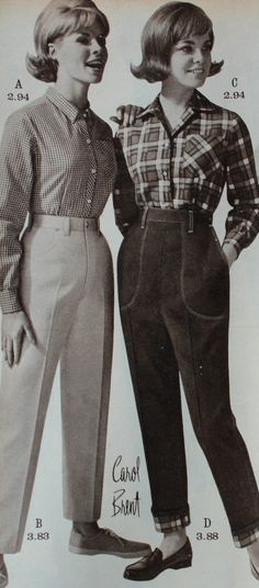 The history of vintage blue jeans from the 1930s, 1940s, 1950s,1960s and 1970s for women and men. Where to buy vintage reproduction jeans today.