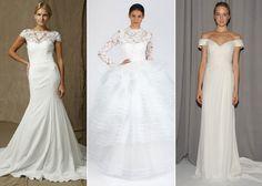 Noivas de inverno: Oscar de La Renta, Nicole Miller e Lela Rose - Harper's Bazaar