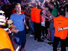 © Matze Hielscher Mittwoch, 29.06., 22.45 Uhr – Charlottenburg, Olympiastadion: Ein verwackelter Chris Martin ganz am Ende einer großartigen Live-Show.