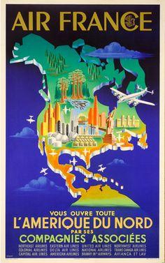 North America - Air France
