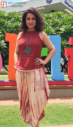 Tisca Chopra at Bangalore Literature Festival Kurta Designs, Blouse Designs, Western Dresses, Indian Dresses, Indian Outfits, Patiala, Churidar, Salwar Kameez, Indian Attire