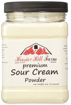 Hoosier Hill Farm Sour Cream Powder, 1 lb. Jar *** Learn more by visiting the image link.
