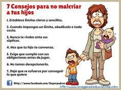 7 Consejos para no malcriar a tus hijos
