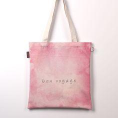 Eco bag Korean Latest Fashion Style Reusable Shopping Shoulder Bag Von Voyage #Lazydog #ShoulderBag