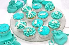 Tiffany Inspired Cupcakes | yum to the very last crumb
