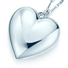 What a great, and classic Mother's Day gift! | Tiffany & Co. heart locket in sterling silver. #TiffanyPinterest | Dont' forget to ship it with Shweebo, and have it in time for Mother's Day.