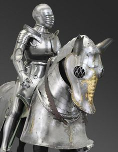 Philadelphia Museum of Art - Collections Object : Horse Armor of Duke Ulrich of Württemberg, for use in the field Medieval Horse, Medieval Armor, Horse Armor, Arm Armor, Armadura Medieval, Dragon's Lair, Armor Concept, Philadelphia Museum Of Art, Knight Armor