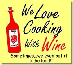 Food and wine recipes are meant to be enjoyed, since one enhances the other. The basic idea is the mixing of two flavors to create a third. The only wrong choice of food and wine is .....Serving no wine at all!