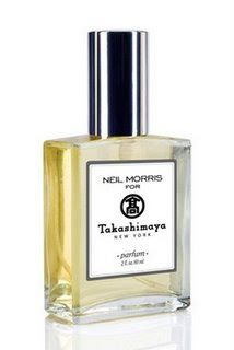 Another brilliant Neil Morris fragrance.  This one he partnered with the no-closed Japanese department store in NYC, Takashimaya.  It makes me smile as soon as I spray it....