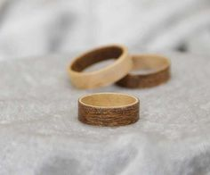 In this tutorial video I show how to make wooden rings out of veneer. This is a great project that doesn't require many tools. In fact all you really need is some super glue, a knife, sandpaper and some tape. Having a lathe or a drill will most definitely help speed up the process. Even if you're not a woodworker you probably already have all the tools necessary for this quick and simple project. I did find that the first couple rings I made were a bit sloppy but by the time you make your…